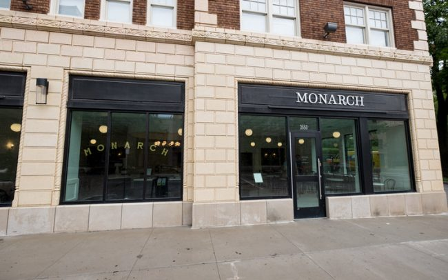 Monarch Exterior Restaurant Construction
