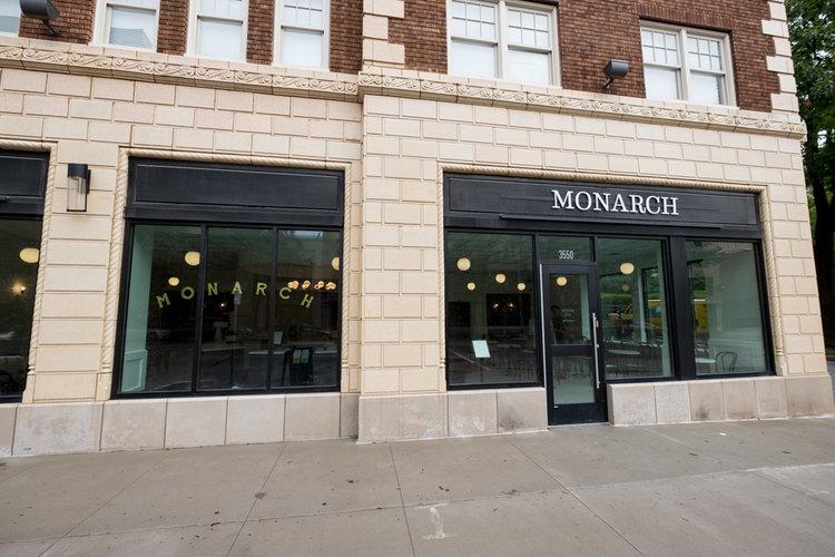 Monarch Exterior Restaurant Construction
